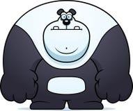 cute draw hand panda Στοκ εικόνα με δικαίωμα ελεύθερης χρήσης