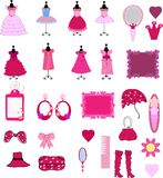 Cute dress and accessories Stock Photo
