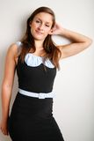 Cute dress fashion Stock Image