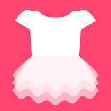 Cute Dress for Little Girl Stock Images