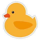 Cute duck Stock Photography