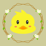 Cute Duck Vector Stock Images