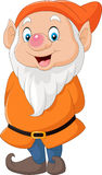 Cute dwarf cartoon Royalty Free Stock Photo