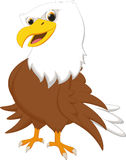 Cute eagle cartoon Royalty Free Stock Photo