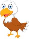 Cute eagle cartoon royalty free illustration