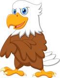 Cute eagle cartoon posing Stock Photo