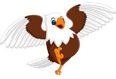 Cute eagle Stock Image