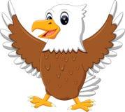 Cute eagle. Illustration of cute eagle cartoon stock illustration