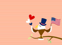 Cute eagle Royalty Free Stock Images