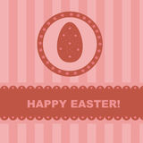 Cute easter background Stock Photography
