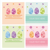 Cute easter backgrounds Stock Photos