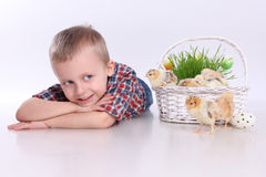 Cute easter royalty free stock image