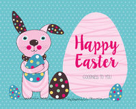 Cute Easter bunnie Royalty Free Stock Image