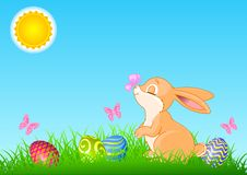 A cute Easter bunny Royalty Free Stock Image