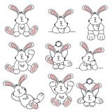 Cute Easter Bunny Royalty Free Stock Image