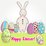 Cute Easter bunny Stock Photos