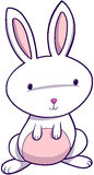 Cute Easter Bunny. Rabbit Vector Illustration Royalty Free Stock Photos