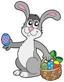 Cute Easter bunny Royalty Free Stock Photos