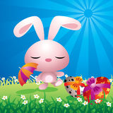 Cute Easter bunny Royalty Free Stock Photo