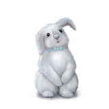 Cute easter bunny rabbit boy Royalty Free Stock Images