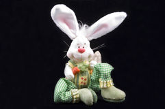 Cute easter bunny sitting Stock Photography