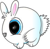 Cute Easter Bunny Vector Stock Image
