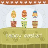 Cute easter card Royalty Free Stock Photo