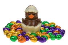 Cute Easter Chick Royalty Free Stock Photos