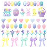 Cute Easter Collection Royalty Free Stock Photo