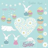 Cute Easter doodle. Vector Illustartion vector illustration