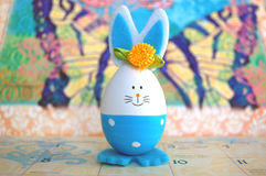 Cute Easter Egg Bunny Royalty Free Stock Photography
