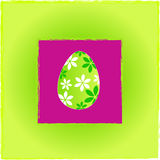Cute Easter greeting card Royalty Free Stock Image