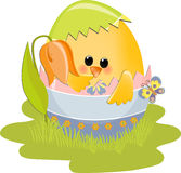 Cute Easter illustration Royalty Free Stock Image