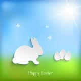 Cute Easter Rabbit Bunny Stock Image