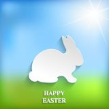 Cute Easter Rabbit Bunny Stock Photography