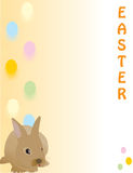 Cute Easter rabbit, great for a quick card, Paper Stock Images