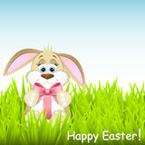 Cute easter rabbit Royalty Free Stock Photography