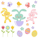 Easter collection Stock Photos