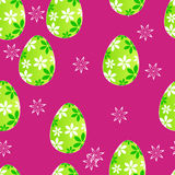 Cute Easter seamless pattern Stock Images