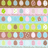 Cute Easter wrapping paper seamless pattern Royalty Free Stock Photography
