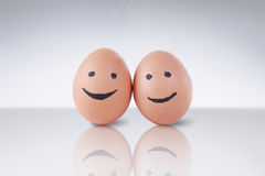 Cute egg Stock Image