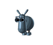 Cute electronic donkey Stock Images