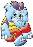 Cute elephant Royalty Free Stock Image