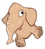 Cute elephant calf  illustration. Cartoon Stock Photos
