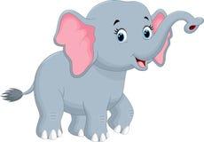 Cute elephant cartoon Royalty Free Stock Photography