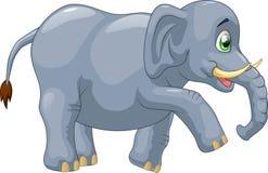Cute elephant cartoon Stock Photos