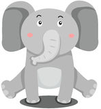 Cute elephant Royalty Free Stock Photos