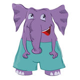Cute Elephant Royalty Free Stock Images