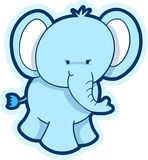Cute Elephant Vector Stock Photo