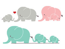 Cute Elephant. Vector File EPS10 Stock Image
